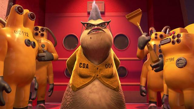 Kim Davis As Roz From Monsters Inc Will Scare The Life Out Of You
