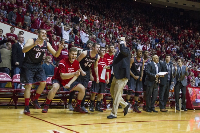 NCAA Basketball: Eastern Washington at Indiana