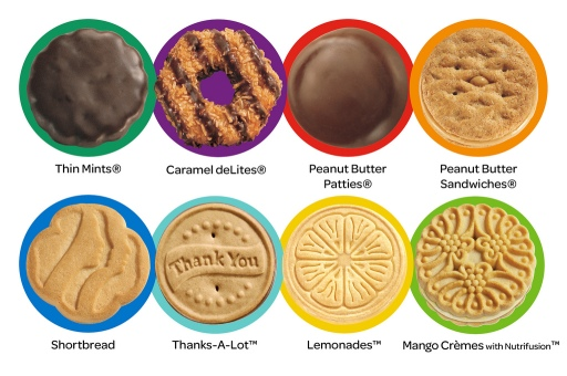 Image result for girl scouts cookies
