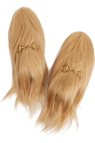 7671015f140 Might Need To Cop A Pair Of Gucci Goat Hair Shoes Right Quick ...