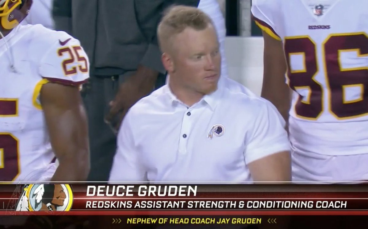 I Can T Get Enough Deuce Gruden What S The Action